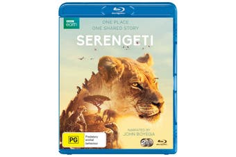 Serengeti Blu-ray Region B