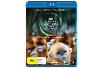 Seven Worlds One Planet Box Set Blu-ray Region B