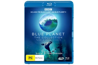 Blue Planet The Collection Box Set Blu-ray Region B