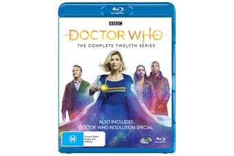 Doctor Who The Complete Twelfth Series 12 Box Set Blu-ray Region B