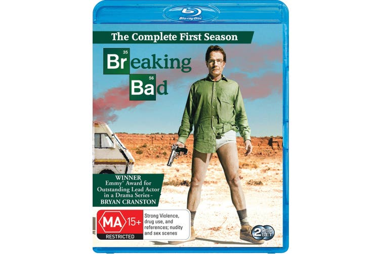 Breaking Bad Season 1 Blu-ray Region B