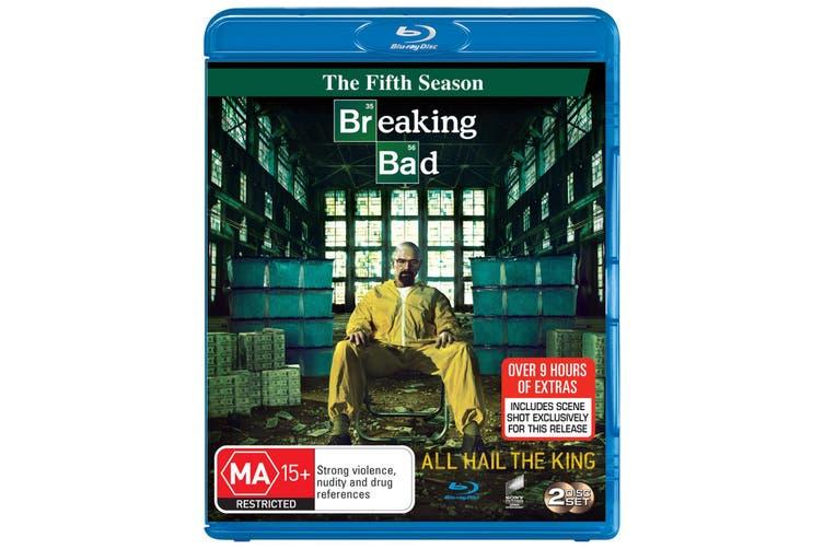 Breaking Bad Season 5 Part 1 Blu-ray Region B