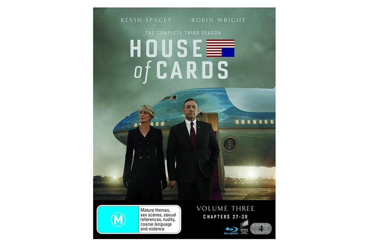 House of Cards The Complete Third Season 3 Blu-ray Region B