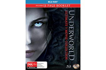 Underworld Ultimate 5 Movie Collection Box Set Blu-ray Region B