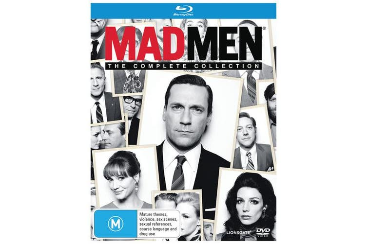 Mad Men The Complete Collection Box Set Blu-ray Region B
