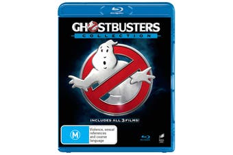 Ghostbusters 1-3 Collection Blu-ray Region B