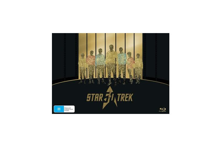 Star Trek 50th Anniversary Collection Blu-ray Region B