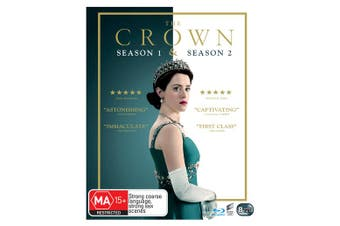 The Crown Season 1 & 2 One & Two Box Set Blu-ray Region B NEW / / PRE ORDER Blu-ray