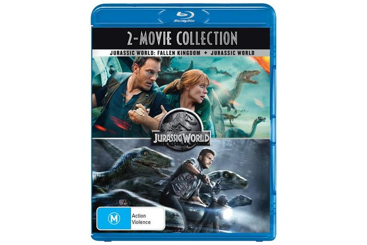 Jurassic World / Jurassic World Fallen Kingdom Blu-ray Region B