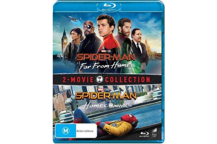 Spider Man Homecoming / Far from Home Blu-ray Region B