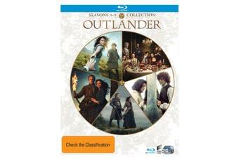 Outlander Seasons 1-5 Box Set Blu-ray Region B