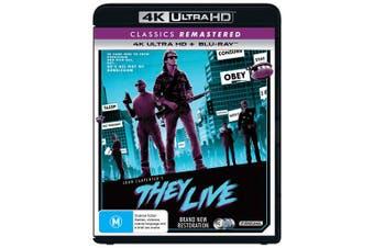 They Live 4K UHD Region B