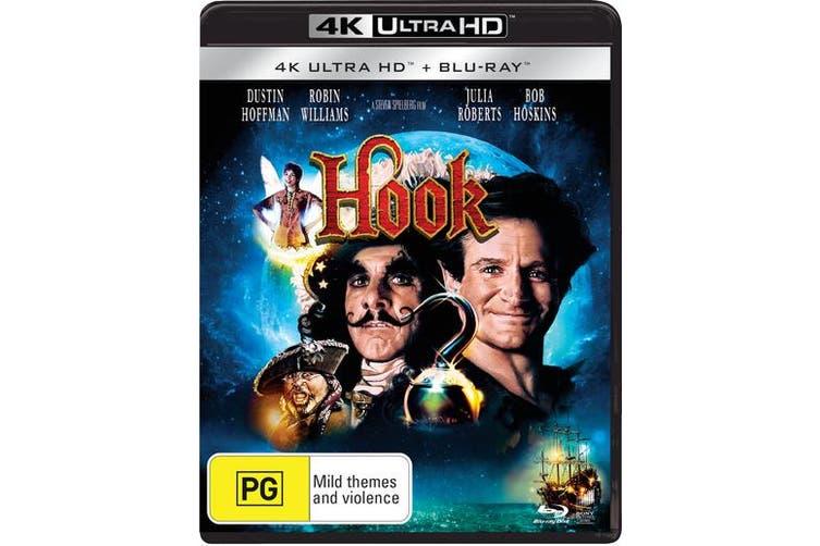 Hook 4K Ultra HD Blu-ray UHD Region B