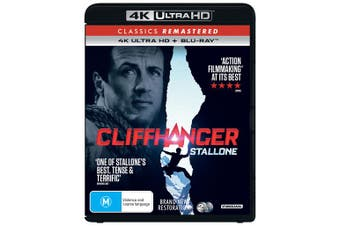 Cliffhanger 4K Ultra HD Blu-ray UHD Region B