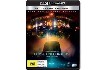 Close Encounters of the Third Kind Directors Cut 4K Ultra HD Blu-ray UHD