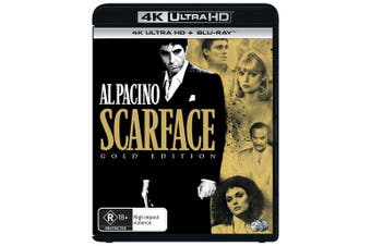 Scarface 4K Ultra HD Blu-ray UHD Region B