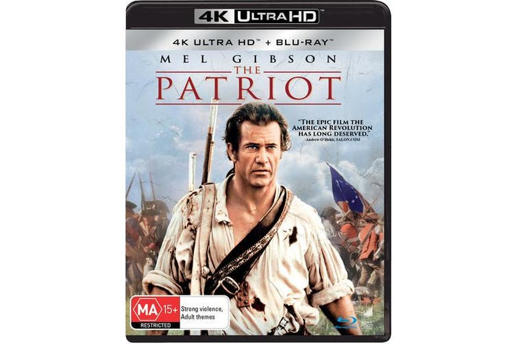 The Patriot 4K Ultra HD Blu-ray UHD Region B