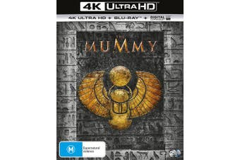 The Mummy 4K Ultra HD Blu-ray Digital UV Copy Blu-ray Region B