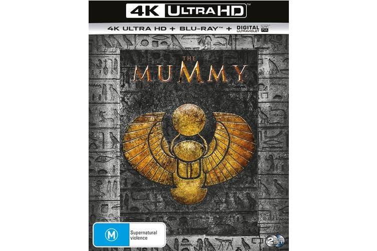 The Mummy 4K Ultra HD Blu-ray Digital UV Copy Blu-ray Region B