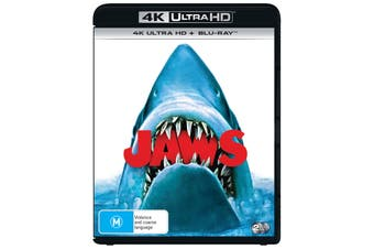 Jaws 4K Ultra HD Blu-ray UHD Region B