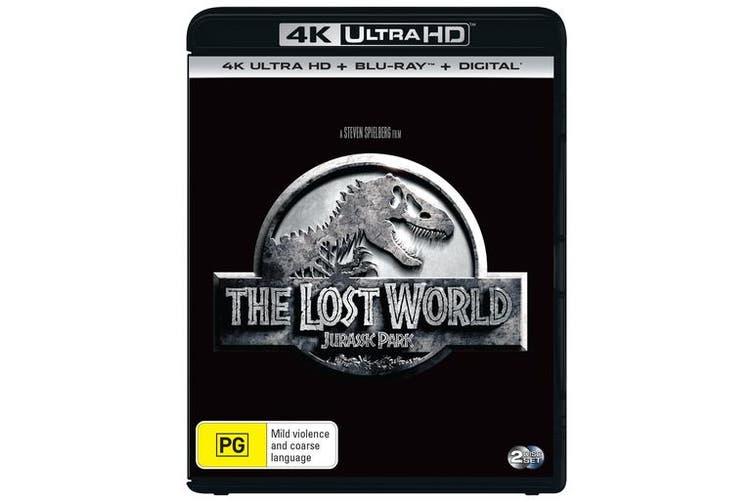 The Lost World Jurassic Park 2 4K Ultra HD Blu-ray Digital Download UHD Region B
