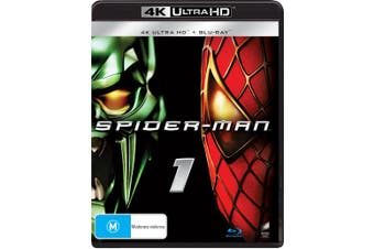 Spider Man 4K Ultra HD Blu-ray UHD Region B