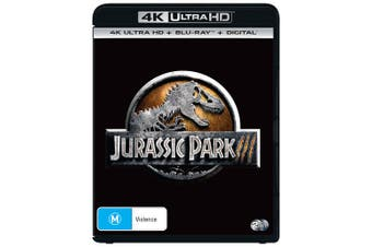 Jurassic Park 3 4K Ultra HD Blu-ray Digital Download UHD Region B