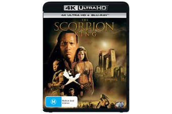 The Scorpion King 4K Ultra HD Blu-ray UHD Region B