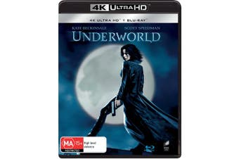 Underworld 4K Ultra HD Blu-ray UHD Region B