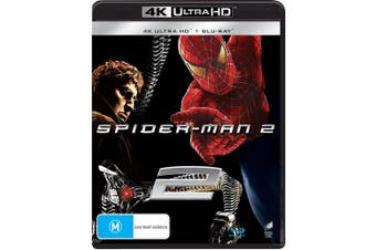 Spider Man 2 4K Ultra HD Blu-ray UHD Region B