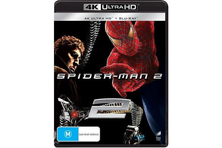 Spider Man 2 4K Ultra HD Blu-ray UHD Region B