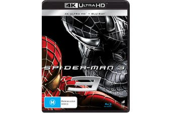 Spider Man 3 4K Ultra HD Blu-ray UHD Region B