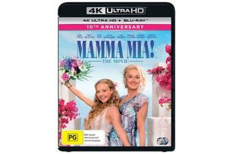 Mamma Mia 4K Ultra HD Blu-ray 10th Anniversary Blu-ray Region B