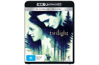 The Twilight Saga Twilight 4K Ultra HD Blu-ray UHD Region B