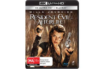 Resident Evil Afterlife 4K Ultra HD Blu-ray UHD Region B