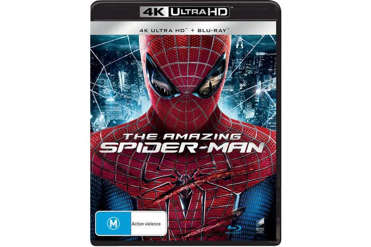 The Amazing Spider Man 4K Ultra HD Blu-ray UHD Region B
