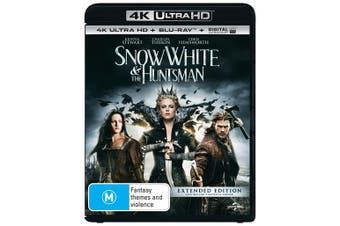 Snow White and the Huntsman 4K Ultra HD Blu-ray Digital UV Copy Blu-ray Region B