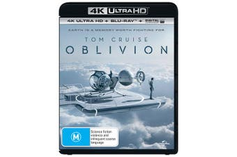 Oblivion 4K Ultra HD Blu-ray Digital UV Copy Blu-ray Region B