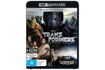 Transformers The Last Knight 4K Ultra HD Blu-ray UHD Region B