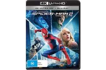 The Amazing Spider Man 2 4K Ultra HD Blu-ray UHD Region B