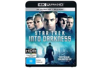 Star Trek Into Darkness 4K Ultra HD Blu-ray UHD Region B