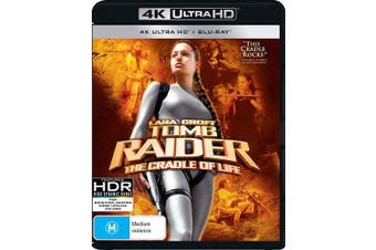 Lara Croft Tomb Raider The Cradle of Life 4K Ultra HD Blu-ray Digital Download UHD