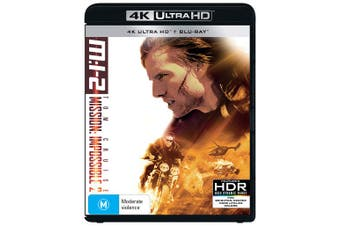 Mission Impossible 2 4K Ultra HD Blu-ray UHD Region B