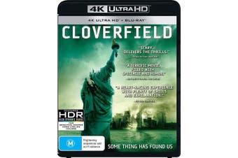 Cloverfield 4K Ultra HD UHD Region B