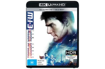 Mission Impossible 3 4K Ultra HD Blu-ray UHD Region B