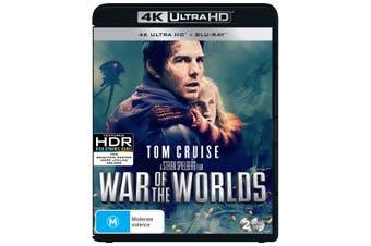 War of the Worlds 4K Ultra HD Blu-ray UHD Region B