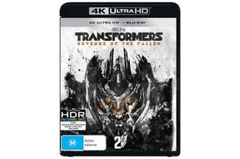 Transformers Revenge of the Fallen 4K Ultra HD Blu-ray UHD Region B