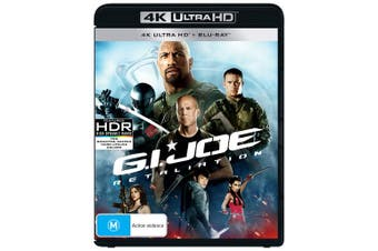 GI Joe Retaliation 4K Ultra HD Blu-ray UHD Region B