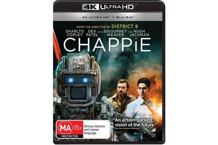 Chappie 4K Ultra HD Blu-ray UHD Region B