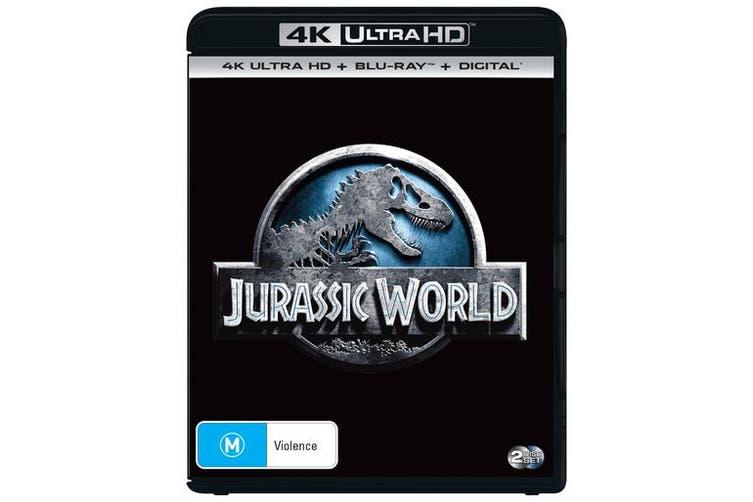 Jurassic World 4K Ultra HD Blu-ray Digital Download UHD Region B